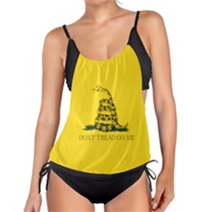 Gadsden Flag Don t Tread On Me Tankini Set by snek