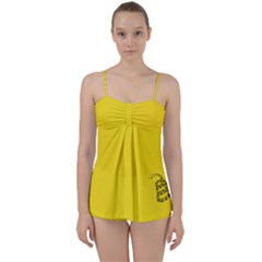 Gadsden Flag Don t Tread On Me Babydoll Tankini Set by snek
