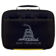 Gadsden Flag Don t Tread On Me Full Print Lunch Bag by snek