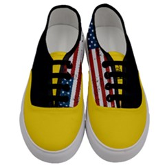 Gadsden Flag Don t Tread On Me Men s Classic Low Top Sneakers