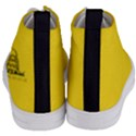 Gadsden Flag Don t tread on me Women s Mid-Top Canvas Sneakers View4