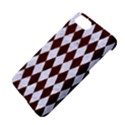 DIAMOND1 WHITE MARBLE & REDDISH-BROWN WOOD Apple iPhone 7 Hardshell Case View4