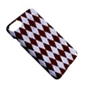 DIAMOND1 WHITE MARBLE & REDDISH-BROWN WOOD Apple iPhone 7 Hardshell Case View5
