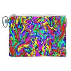 Artwork By Patrick Colorful 18 Canvas Cosmetic Bag (xl) by ArtworkByPatrick