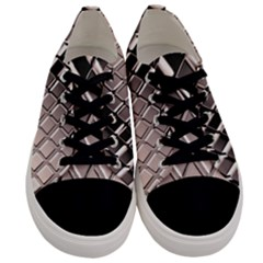 3d Abstract Pattern Men s Low Top Canvas Sneakers