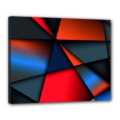 3d And Abstract Canvas 20  X 16  by Sapixe
