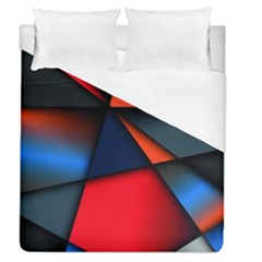 3d And Abstract Duvet Cover (queen Size)