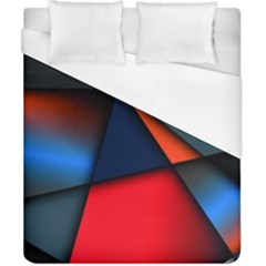 3d And Abstract Duvet Cover (california King Size)