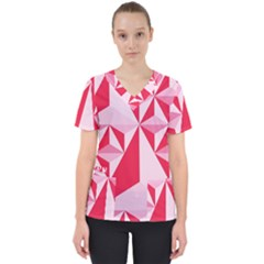 3d Pattern Experiments Scrub Top