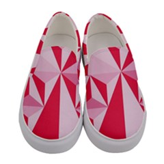 3d Pattern Experiments Women s Canvas Slip Ons