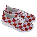 SQUARE1 WHITE MARBLE & RED MARBLE Women s Lightweight Sports Shoes View3