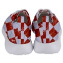SQUARE1 WHITE MARBLE & RED MARBLE Women s Lightweight Sports Shoes View4
