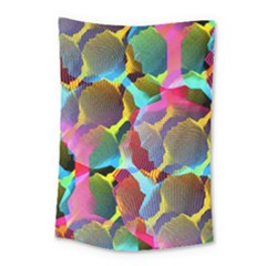 3d Pattern Mix Small Tapestry