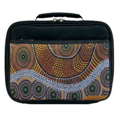 Aboriginal Traditional Pattern Lunch Bag