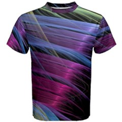 Abstract Satin Men s Cotton Tee by Sapixe