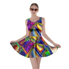 Abstract Digital Art Skater Dress by Sapixe