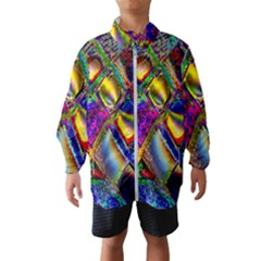 Abstract Digital Art Wind Breaker (kids)