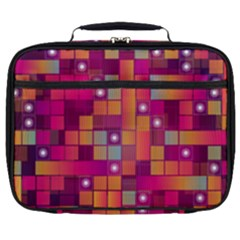 Abstract Background Colorful Full Print Lunch Bag by Sapixe
