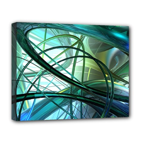 Abstract Deluxe Canvas 20  X 16   by Sapixe