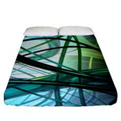 Abstract Fitted Sheet (king Size)