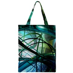 Abstract Zipper Classic Tote Bag by Sapixe