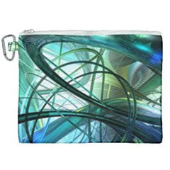 Abstract Canvas Cosmetic Bag (xxl)