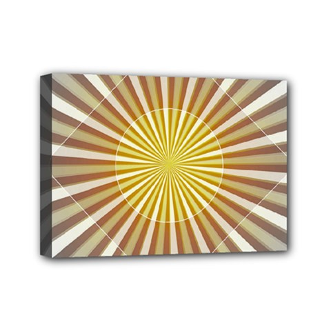 Abstract Art Art Modern Abstract Mini Canvas 7  X 5  by Sapixe