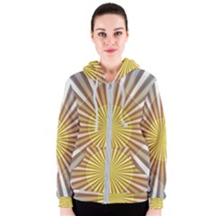 Abstract Art Art Modern Abstract Women s Zipper Hoodie