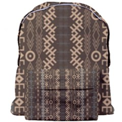 African Style Vector Pattern Giant Full Print Backpack