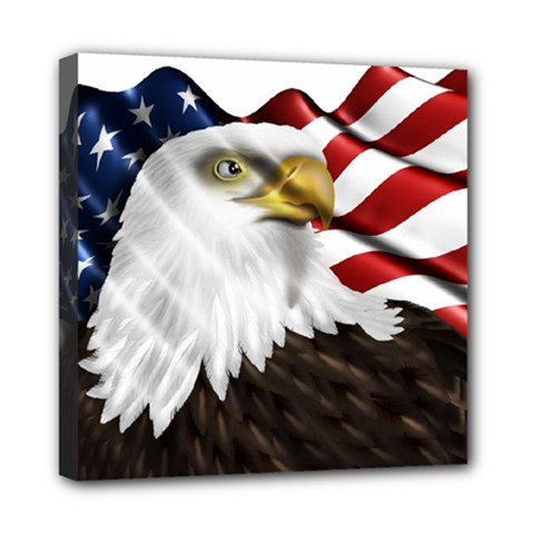 American Eagle Flag Sticker Symbol Of The Americans Multi Function Bag	 by Sapixe