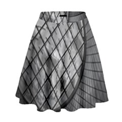 Architecture Roof Structure Modern High Waist Skirt by Sapixe