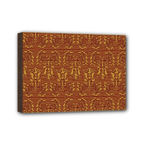 Art Abstract Pattern Mini Canvas 7  X 5  by Sapixe
