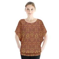 Art Abstract Pattern Blouse by Sapixe