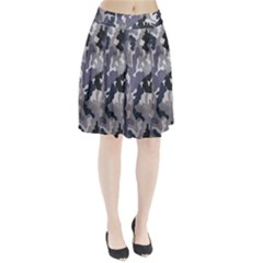 Army Camo Pattern Pleated Skirt
