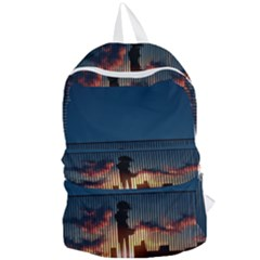 Art Sunset Anime Afternoon Foldable Lightweight Backpack