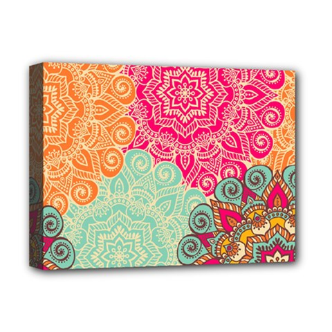 Art Abstract Pattern Deluxe Canvas 16  X 12   by Sapixe