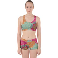 Art Abstract Pattern Work It Out Gym Set by Sapixe