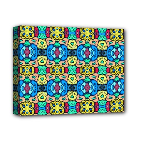 Colorful 22 Deluxe Canvas 14  X 11  by ArtworkByPatrick