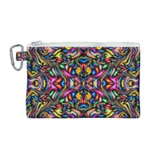 Artwork By Patrick-colorful-24 1 Canvas Cosmetic Bag (medium)