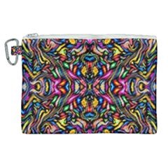 Artwork By Patrick Colorful 24 1 Canvas Cosmetic Bag (xl) by ArtworkByPatrick