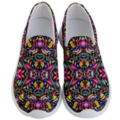Artwork By Patrick Colorful 24 1 Men s Lightweight Slip Ons