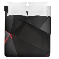 Black Light Dark Figures Duvet Cover Double Side (queen Size) by Sapixe