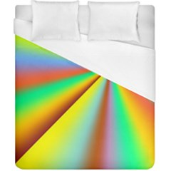 Burst Radial Shine Sunburst Sun Duvet Cover (california King Size)