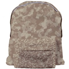 Camouflage Tarn Texture Pattern Giant Full Print Backpack
