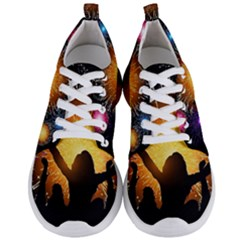 Celebration Night Sky With Fireworks In Various Colors Men s Lightweight Sports Shoes