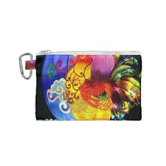 Chinese Zodiac Signs Canvas Cosmetic Bag (small)
