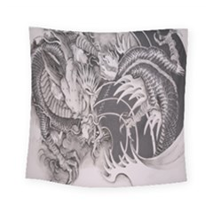 Chinese Dragon Tattoo Square Tapestry (small) by Sapixe