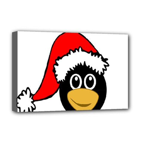 Christmas Animal Clip Art Deluxe Canvas 18  X 12   by Sapixe