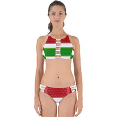 Christmas Banners Clipart Perfectly Cut Out Bikini Set