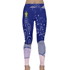 Christmas Tree Classic Yoga Leggings by Sapixe